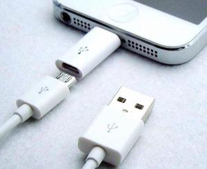 Adaptador Bolsillo iPhone , Entrada Android Con