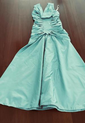 Vestido de fiesta largo usado 1 vez, TADASHI talla 2 Small