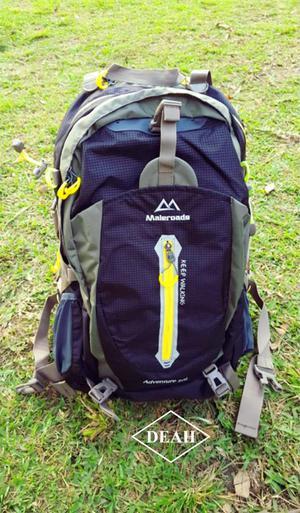 Mochila Maleroads Original Para Trekking Y Camping 50 Litros