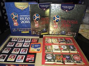 Pack Gold Edition Rusia Album Panini