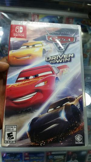 Cars 3 Nintendo Switch Nuevo Y Sellado