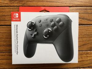 Control Nintendo Switch Pro Controller Mando Nuevo Sellado