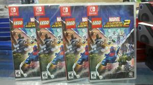 Marvel Super Heroes 2 Nintendo Switch Nuevo y Sellado Stock