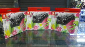 Nintendo Switch Pro Controller Splatoon 2 Nuevo y Sellado