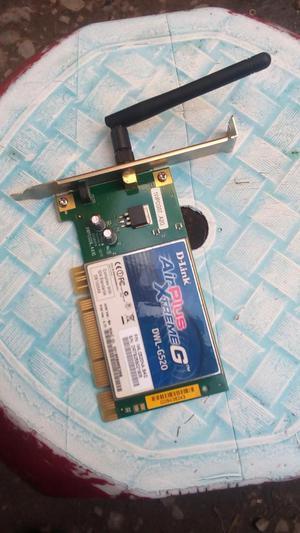 se vende una tarjeta de wifi