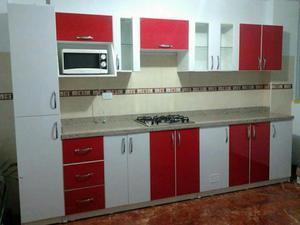 Cocina de melamine cotizamos a bajo costo posot class for Modelos de muebles de cocina altos y bajos