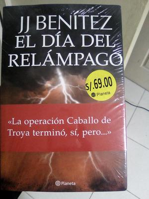 libro jj Benitez el dia del relampago original