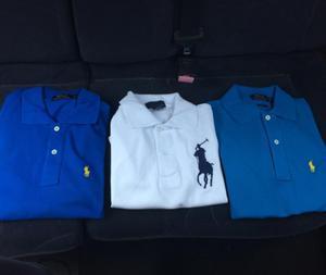 Camiseros Polo Ralph Lauren Tallas S M L Xl Colores:Blanco