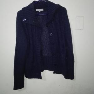 Cardigan Newport, Color Azul, Talla S
