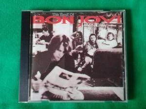 Se Vende CD The Best Of Bon Jovi Cross Road, en buen estado