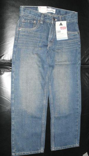 Pantalon Jean Levis Para Niño Talla 7 Original NUEVO