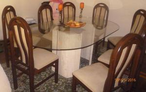 Vendo comedor m rmol excelent simo lima posot class for Vendo marmol travertino