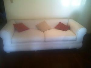 Remato lindo Sofa de 2 cuerpos de terciopelo de alta calidad