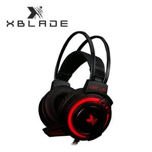 AUDIFONO C/MICROF. XBLADE GAMING ORCUS HG BLACK/RED PN