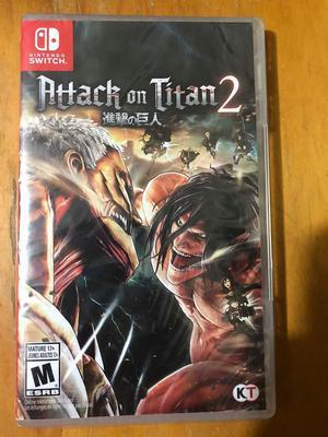 Attack on Titan 2 Juego de Switch Nuevo Sellado