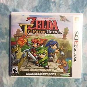 CAMBIO Juego De Nintendo 3ds Zelda Tri Force Heroes
