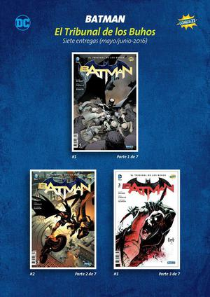 Colección Comics Peru21 De Batman: Tribunal de los Búhos