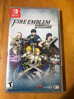 Fire Emblem Warriors Juego de Nintendo Switch Nuevo Sellado