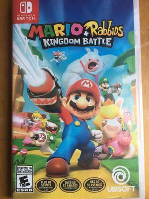 Mario Rabbids Kingdom Battle para Nintendo Switch Nuevo