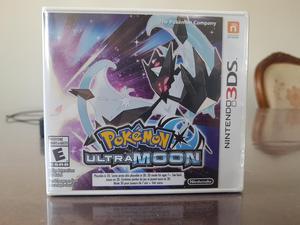 Pokemon Ultra Moon Nuevo Y Sellado