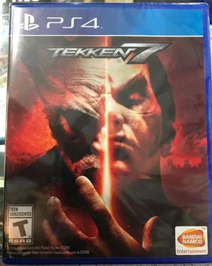 Vendo Juego Tekken 7 Ps4 S/.60 Soles