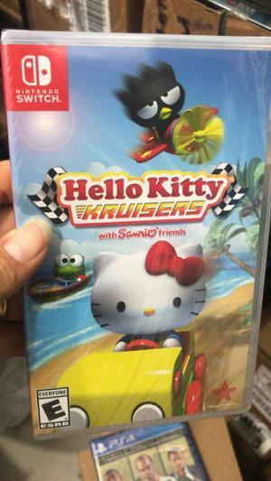 Hello Kitty Kruisers Nintendo Switch Nuevo y Sellado Envios