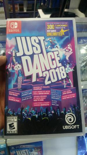 Just Dance  Nintendo Switch Nuevo y Sellado Stock