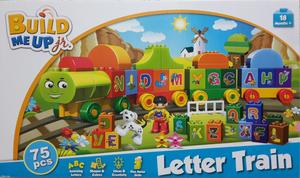 Set Lego Alterno Pre Escolar Unisex Tren de Letras