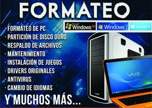 Soporte Tecnico de Pc a Domicilio Full Time