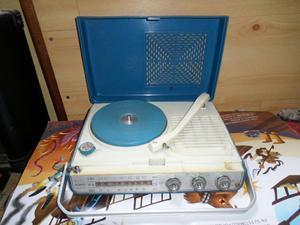 Tocadisco Operativo,con Radio,vimtage