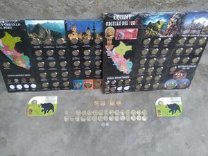 2 Album de Colección de Monedas