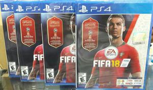 Fifa 18 World Cup Rusia  Ps4 Nuevo y Sellado Stock