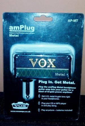 Vox amPlug Metal made in japan