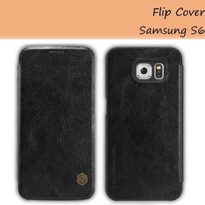 Funda Flip Cover Original Nillkin Samsung S6 cuero