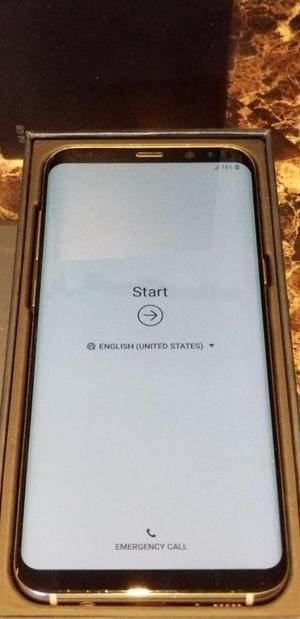 Samsung Galaxy S8 Plus Dorado