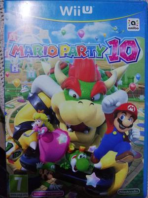 Juego Wii U Mario Party 10 Y Amiibo Princesa Peach Posot Class