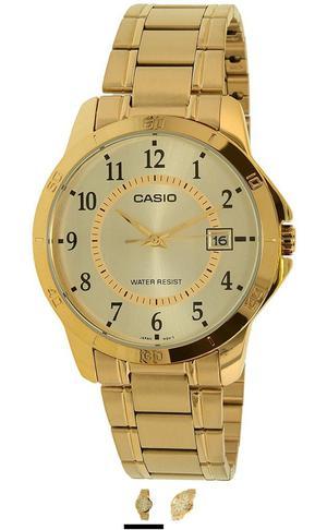 a88cd90bb161 Reloj casio dorado