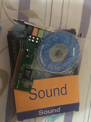 Tarjeta de Audio