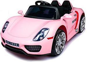 Carro / Auto A Bateria Porsche 918 Spyder Con USB y Mp3