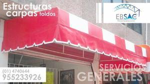 TOLDO MODELO EMPOTRADO EBSAC PERU