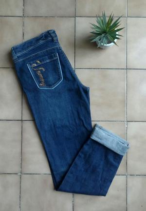 Pantalon Jean Tommy Hilfiger Skinny Mujer Original