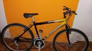 Vendo Bicicleta Montañera aro 26 de 18 cambios llantas