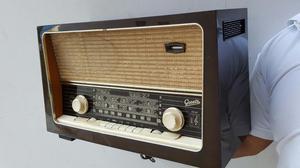 Antigua Radio Graetz Super 284w Made In Germany Funciona