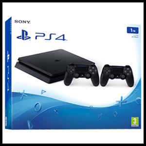 PS4 mas 2 controles y 3 juegos