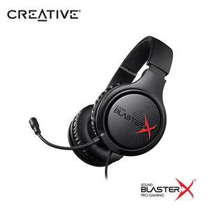 IFONO C/MICROF. CREATIVE GAMING H3 SBX BLACK