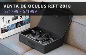 Gafas / Lentes De Realidad Virtual Oculus Rift  Nuevo