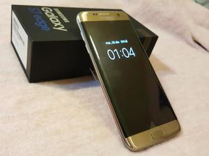 Samsung Galaxy S7 EDGE gold...liberadoNacional NUEVO
