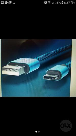 Cable Usb Tipo C de 3 Metros