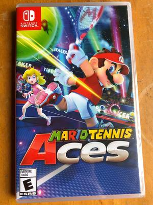 Mario Tennis Aces Nuevo Sellado Nintendo Switch