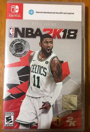 NBA 2K18 Para Nintendo Switch Nuevo Sellado